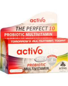 ACTIVOVITE PRO4 CAP 10