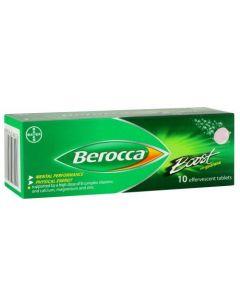 BEROCCA BOOST EFF 10'S