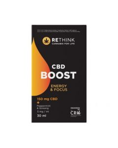 RETHINK CBD BOOST OIL 150MG 30ML