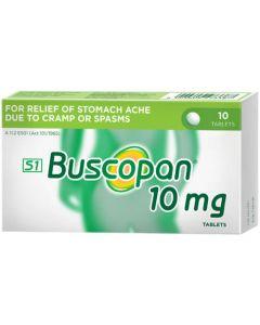 BUSCOPAN 10MG TAB 10