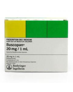 BUSCOPAN AMPS 20MG 5'S