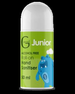 Germkill Jnr Alcohol Free Roll on 50ml Green