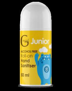 Germkill Jnr Alcohol Free Roll on 50ml Yellow