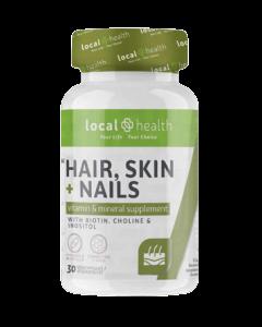 Local Health Hair Skin and Nails 30 Caps