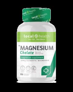 Local Health Magnesium 60 Caps