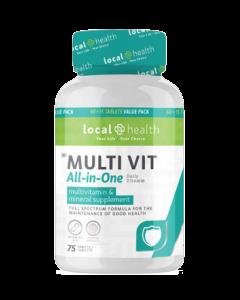 Local Health Multivitamin 60 TABS + 15 Free