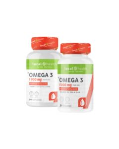 LOCAL HEALTH OMEGA 3 90'S + 30 VALUE PACK