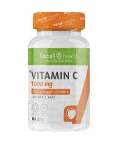 Local Health Vitamin C 1000MG 60 TAB
