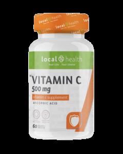 Local Health Vitamin C 500MG 60 TABS