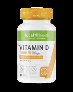 Local Health Vitamin D 1000 IU 30's