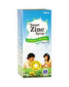 SMART ZINC SYRUP 150ML