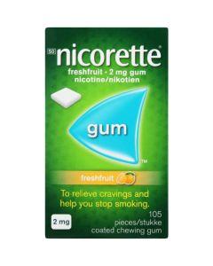 NICORETTE GUM 2MG  30 FRESH FRUIT