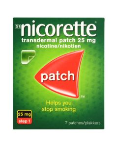 NICORETTE PATCHES INV 25MG 7'S