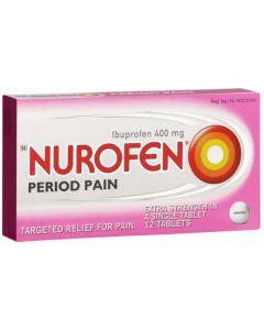 NUROFEN PERIOD PAIN 400MG TAB 12