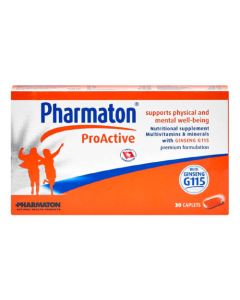 PHARMATON PROACTIVE CAP 30'S