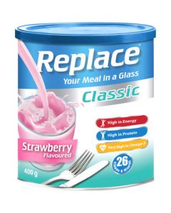 REPLACE 400G STRAWBERRY