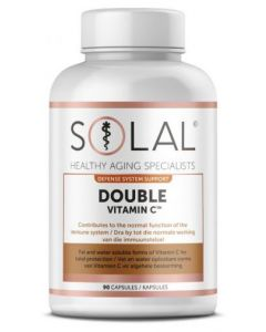 SOLAL VITAMIN C DOUBLE 1000MG 90'S