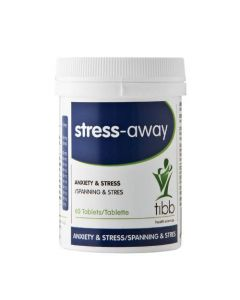 TIBB STRESS AWAY   TAB 60