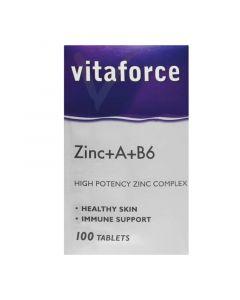 ZINC+A+B6   100'S  VITAFORCE